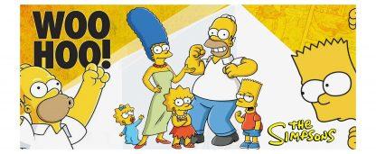 Taza de Los Simpsons