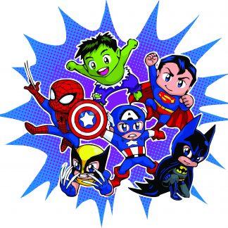 Camiseta Superheroes Mod.001