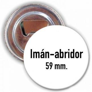 Imán-abridor de 59 mm.