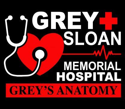 Camiseta de Anatomía de Grey Mod.001