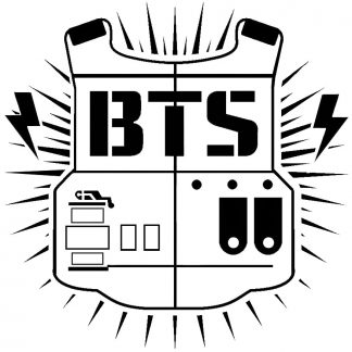 Camiseta BTS Mod.001