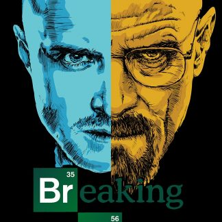 Camiseta de Breaking Bad Mod.005