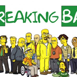 Camiseta de Breaking Bad Mod.007