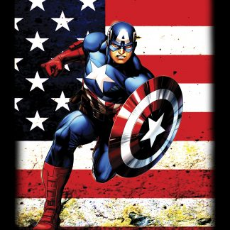 Camiseta del Capitán America Mod.001