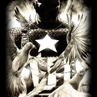 Camiseta del Capitán America Mod.004