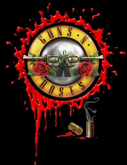 Camiseta de Guns n Roses Mod.001