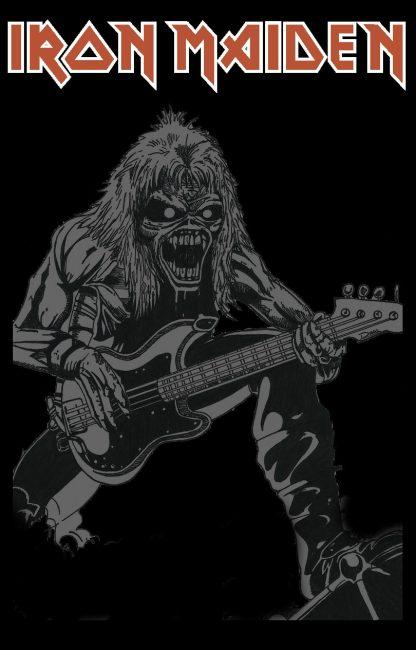 Camiseta de Iron Maiden Mod.004