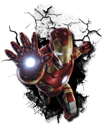 Camiseta de Iron Man Mod.001