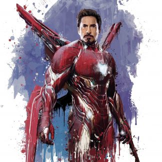 Camiseta de Iron Man Mod.002