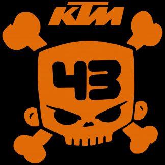 Camiseta de KTM Mod.001