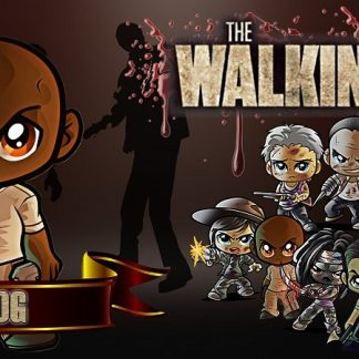 Taza The Walking Dead - Tdog