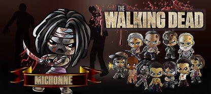 Taza The Walking Dead - Michonne