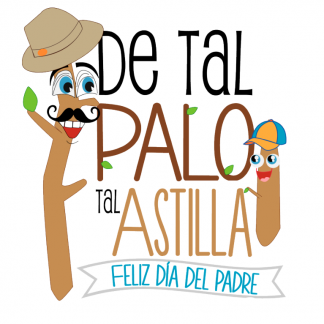"""Taza """"De Tal palo tal astillita"""""""
