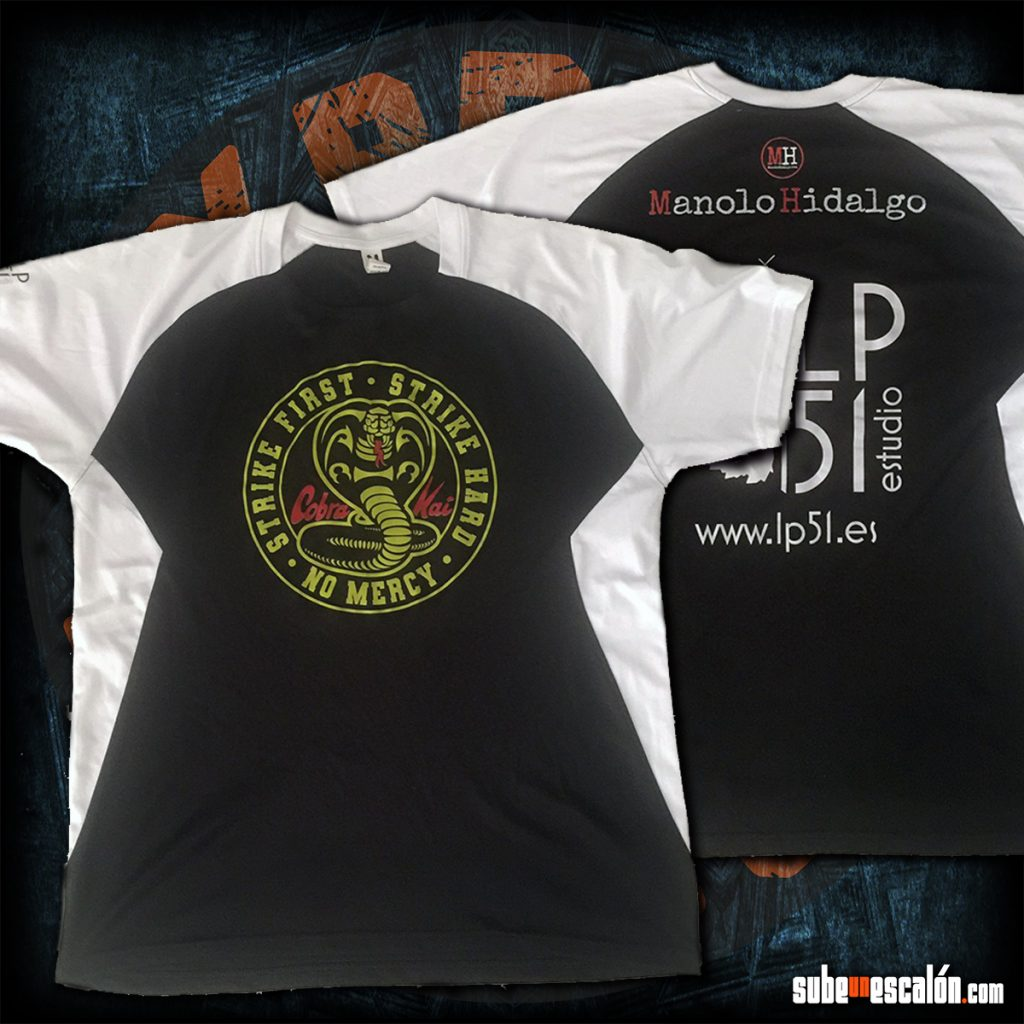 Camiseta Cobra Kai deportiva