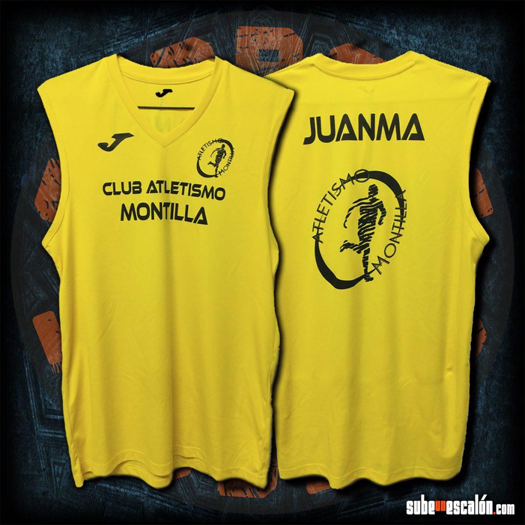 Camiseta Club de Atletismo Montilla