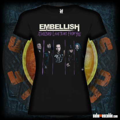 Embellish, camiseta de A Thousand light years from you